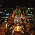 札幌は新・三大夜景の1つ!おすすめの夜景スポット6選はここ!