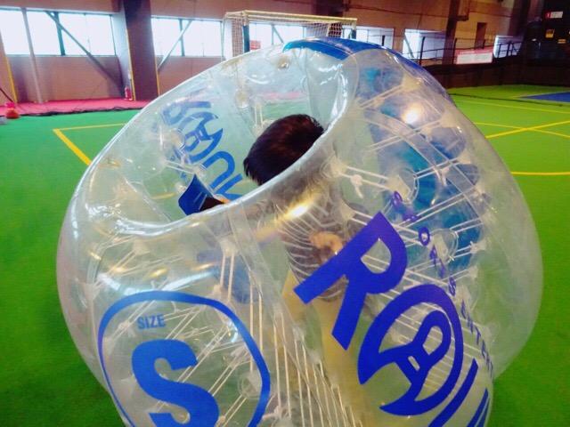 ノルウェー発祥のバブルサッカー