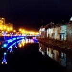 青の運河!小樽のイルミネーション(ライトアップ)の紹介・おすすめルートも|小樽ゆき物語2015-2016