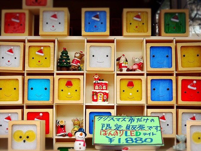 クリスマス市限定品LEDサンタライト