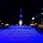 見下ろすは一面の青い海!さっぽろホワイトイルミネーション(大通)|札幌