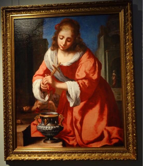 2番目の作品「聖女プラクセデス」