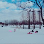 さとらんどは冬も楽しい!無料チューブ滑りや幼児からの雪遊び!|札幌