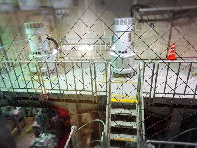 地下4階から見られる施設