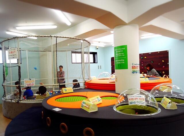 札幌水道記念館のキッズルーム。ボールプールもあり充実