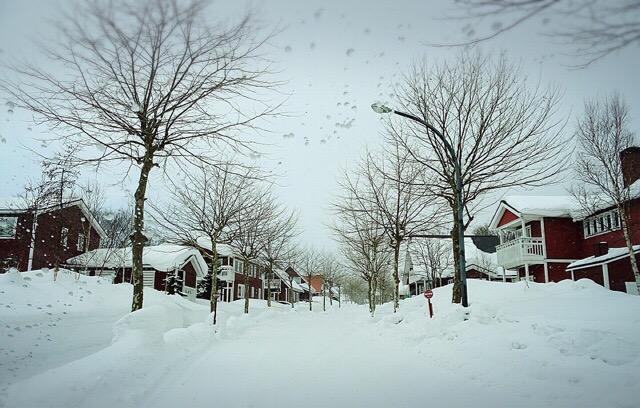スウェーデンヒルズの街並み