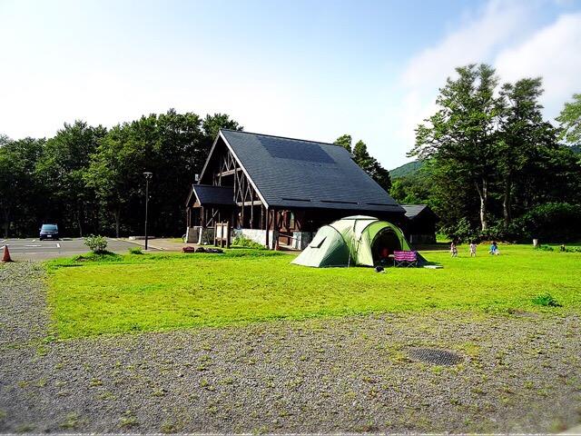 高地で涼しく快適だった酸ヶ湯温泉キャンプ場。