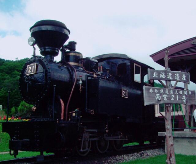 本格的な蒸気機関車がサイト内を駆け抜ける!