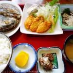 「厚岸海産」は地元にも人気の食堂!美味しい牡蠣をぜひ!子連れOKです