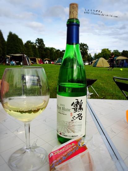 キャンプ&ワインは幸せすぎるひととき!