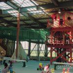 アースドリーム角山牧場に屋内の遊び場(ドリームランド子どもの国)が登場!ツリーハウスや天空トンネルがすごい!|江別市