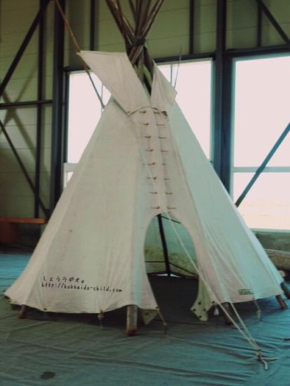 テントもあります