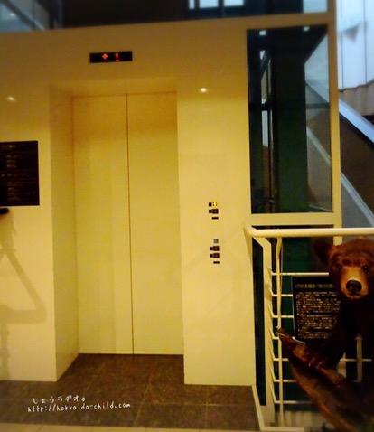 館内にはエレベーターがあります