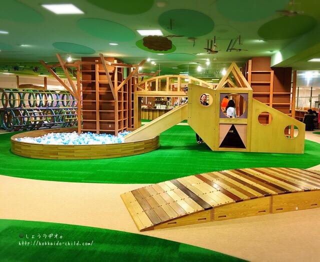 大型複合木製遊具など