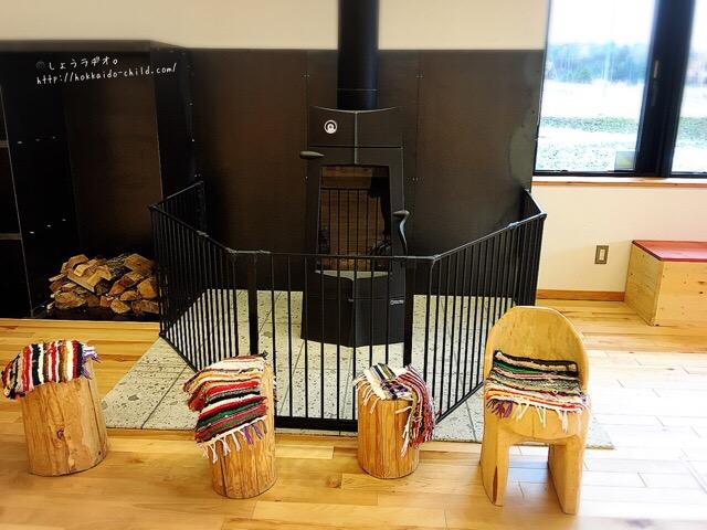 暖炉が似合うこの雰囲気!