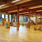 くるみなの木遊館は優しい木の香りが漂う無料の遊び場!|当麻町