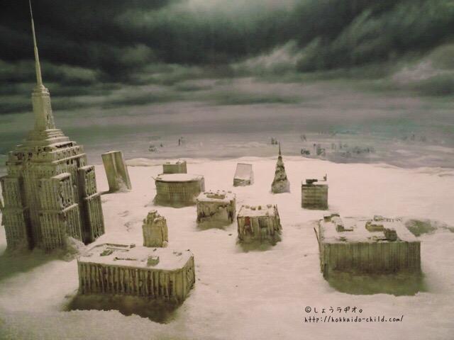氷河期エリア。寒い!