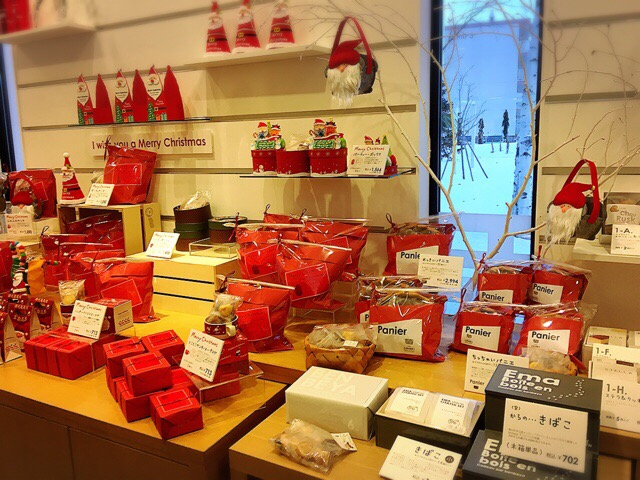 クリスマスパッケージの焼き菓子
