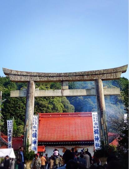 橘神社の本殿
