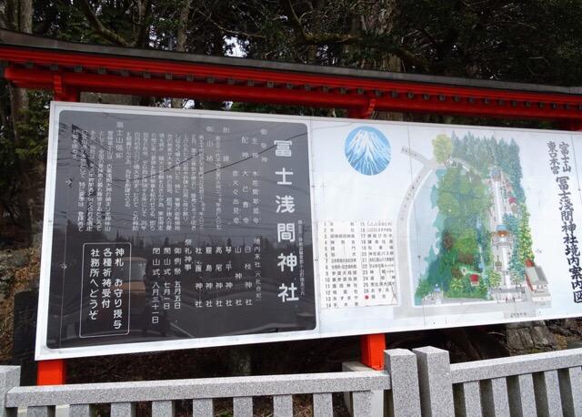 神社の系内案内図