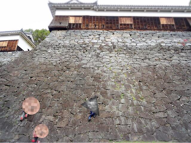 熊本城の石垣