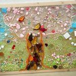 珪藻(けいそう)土アートを体験!材料があれば子どもの自由研究にも!!