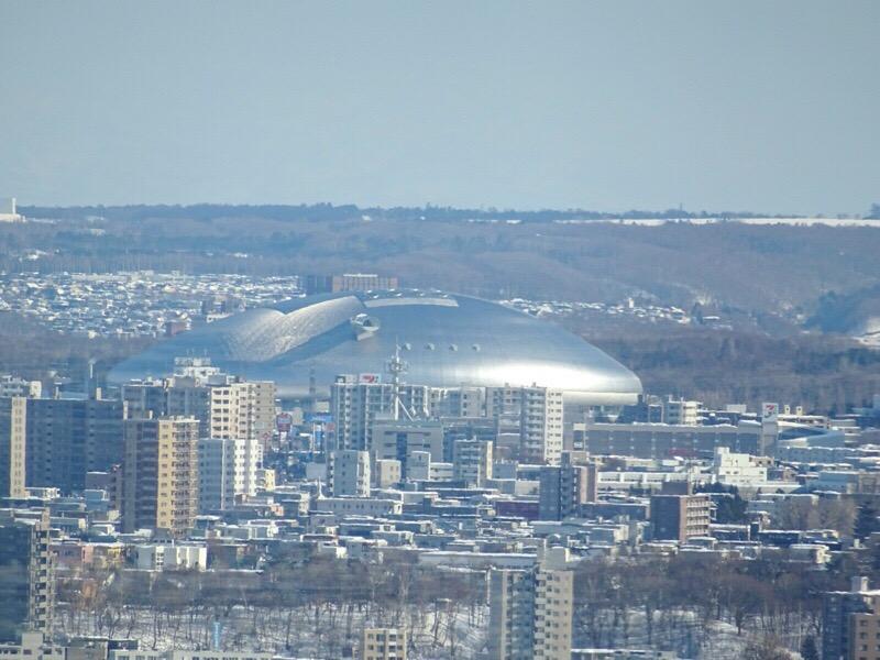 JRタワー展望室 札幌ドームも見える!