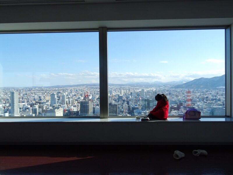 JRタワー展望室 展望室からの眺め