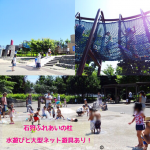 「石狩ふれあいの杜公園」の紹介! 水遊びに大型ネット遊具が楽しい!|石狩市