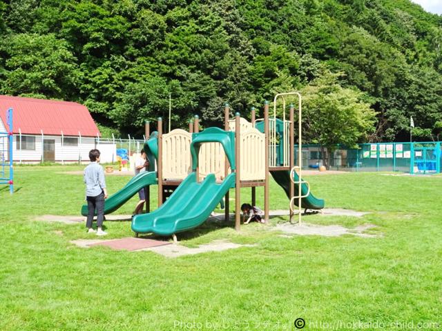 栗山公園 遊具 小さなコンビネーション遊具