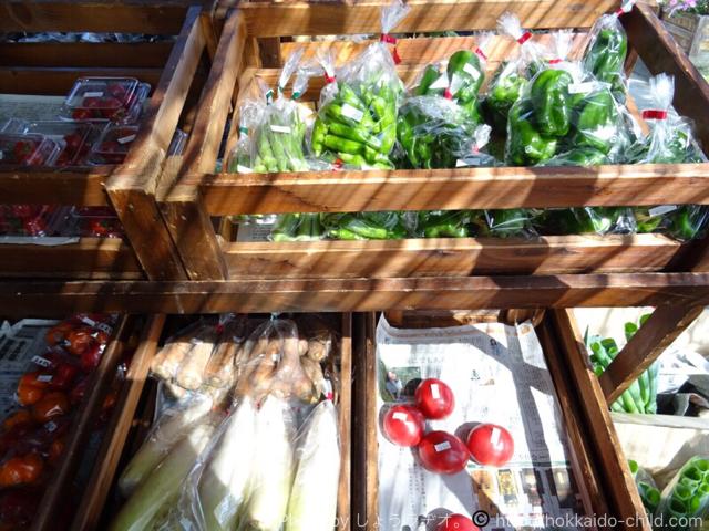 栗山公園 新鮮なお野菜