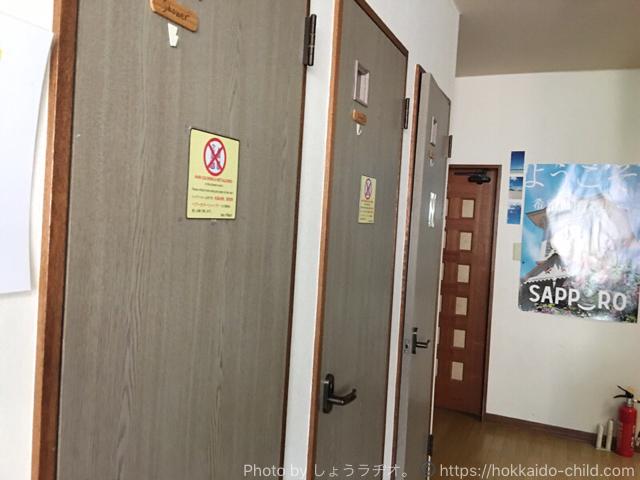ゲストハウス イノーズプレイスのシャワールーム