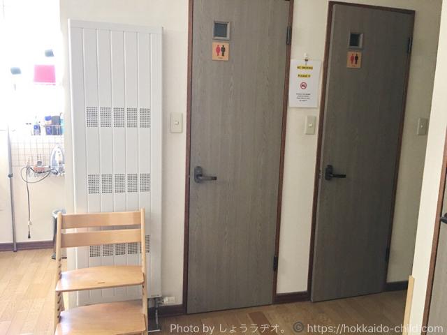 ゲストハウス イノーズプレイスのトイレ