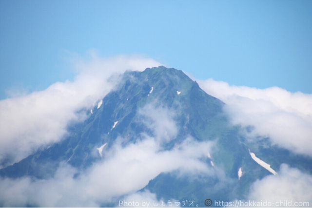 利尻島のピーク
