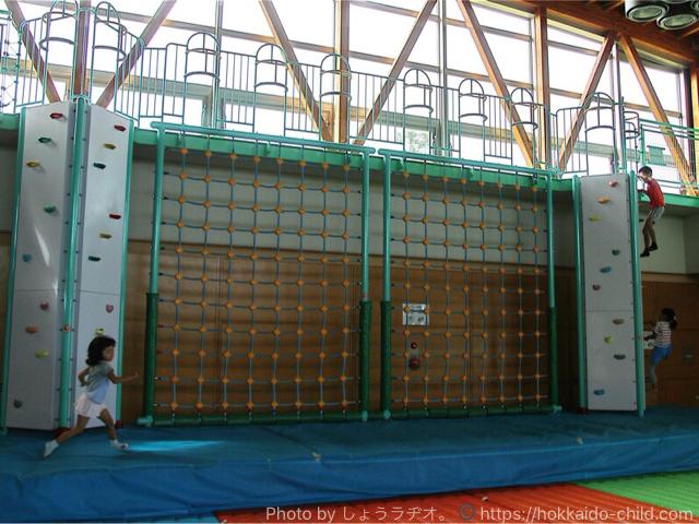 北海道立宗谷ふれあい公園の屋内遊技場