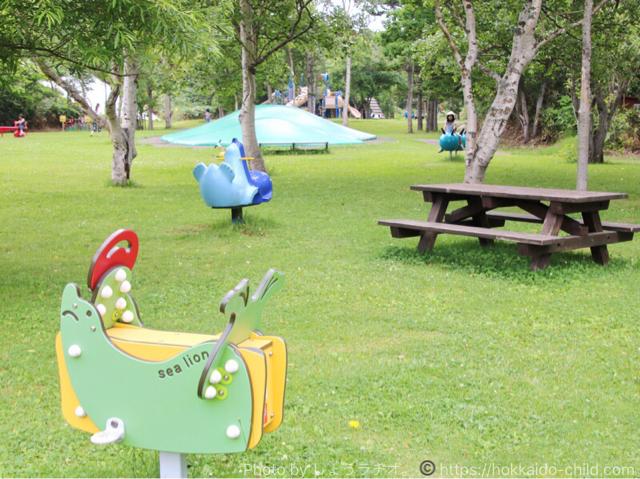 北海道立宗谷ふれあい公園 遊具広場