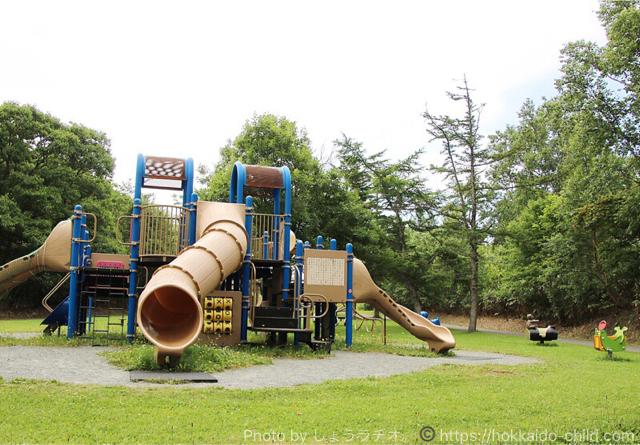 北海道立宗谷ふれあい公園 コンビネーション遊具