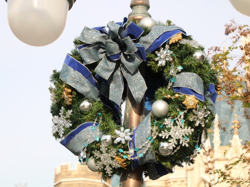 クリスマスのディズニーランド