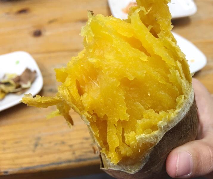 安納芋の石焼き芋