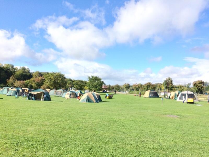 カムイの杜公園 無料のキャンプ場