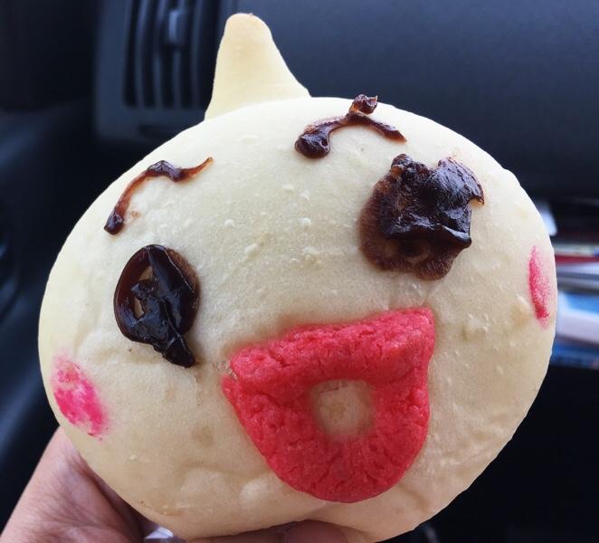 ご当地キャラ「しまばらん」のパン