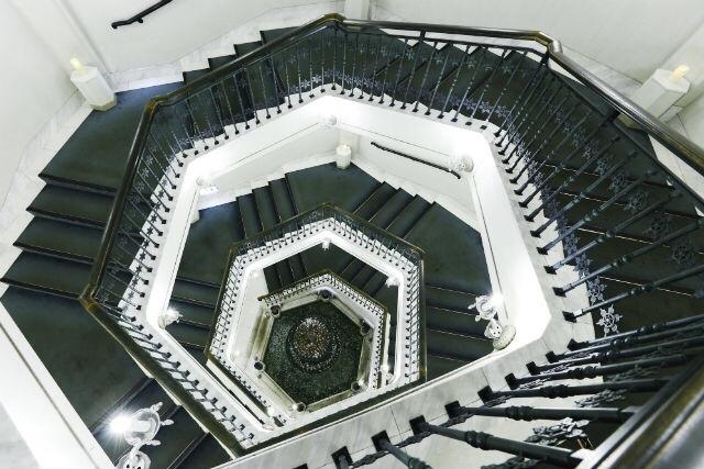 らせん階段も美しい!(※写真はアソビュー提供)