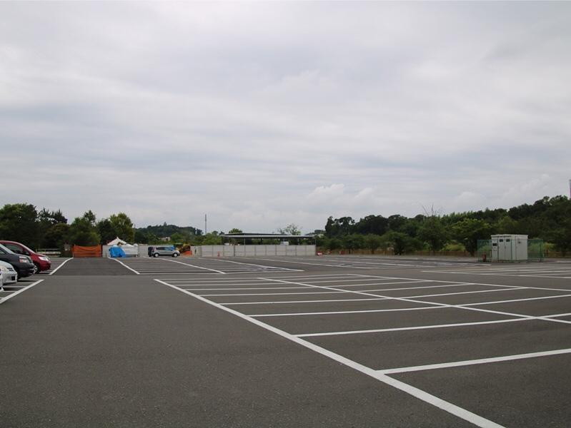 清水公園の駐車場
