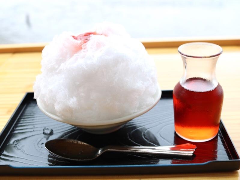 菊水苑 天然氷のかき氷