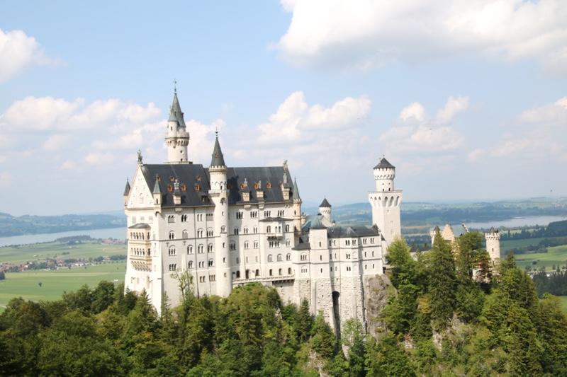 ドイツでみた本物のノイシュバンシュタイン城