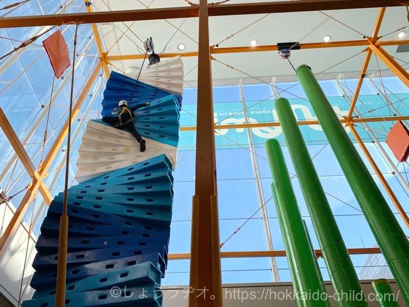 10メートルの高さに挑戦中!