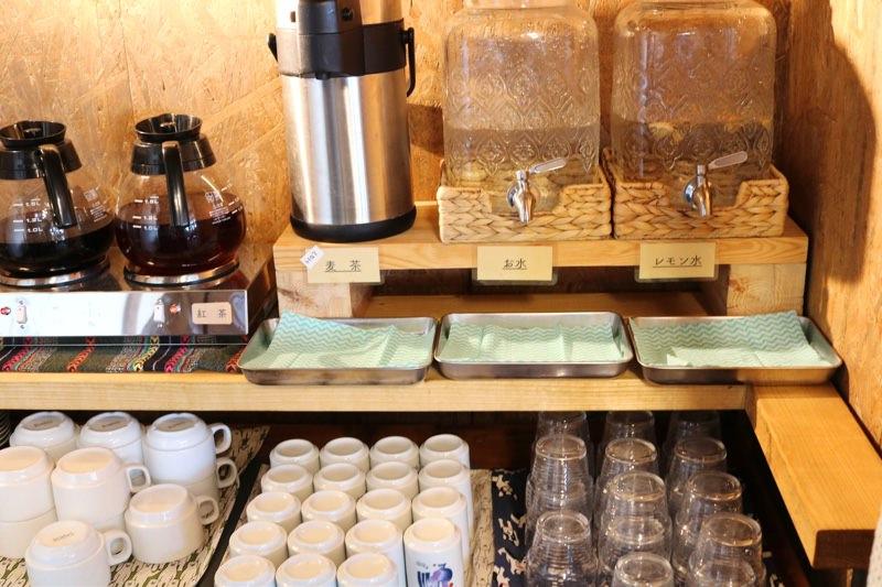 コーヒーなどはフリードリンク