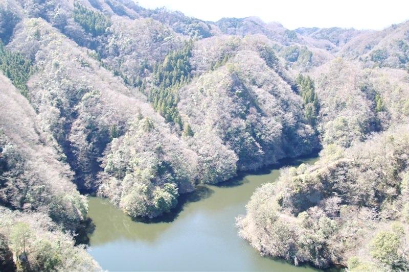 竜神峡の美しい景色