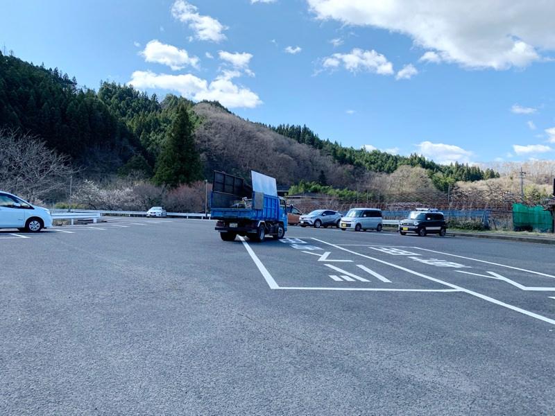 第一駐車場は約50台分