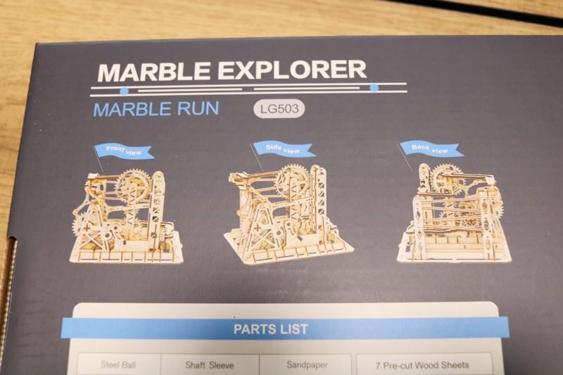 ROBOTIMEのビー玉コースターは3種類